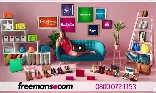 Sophie Bleasdale – VO for Freemans ad