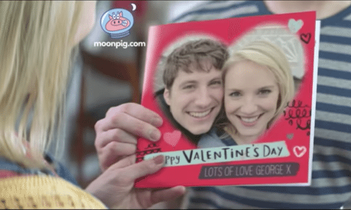 Patrick Ryecart – Moonpig Valentine's Day ad