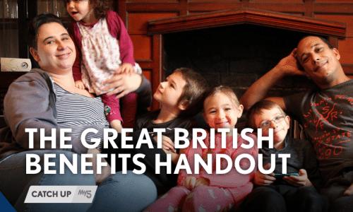 Graeme Hawley – The Great British Handout, Channel 5